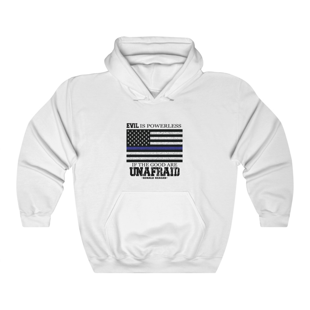 """Unafraid"" Unisex Heavy Blend™ Hooded Sweatshirt"